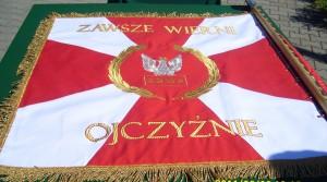 Sztandar Związku Żołnierzy Wojska Polskiego w Kujawsko-Pomorskiem
